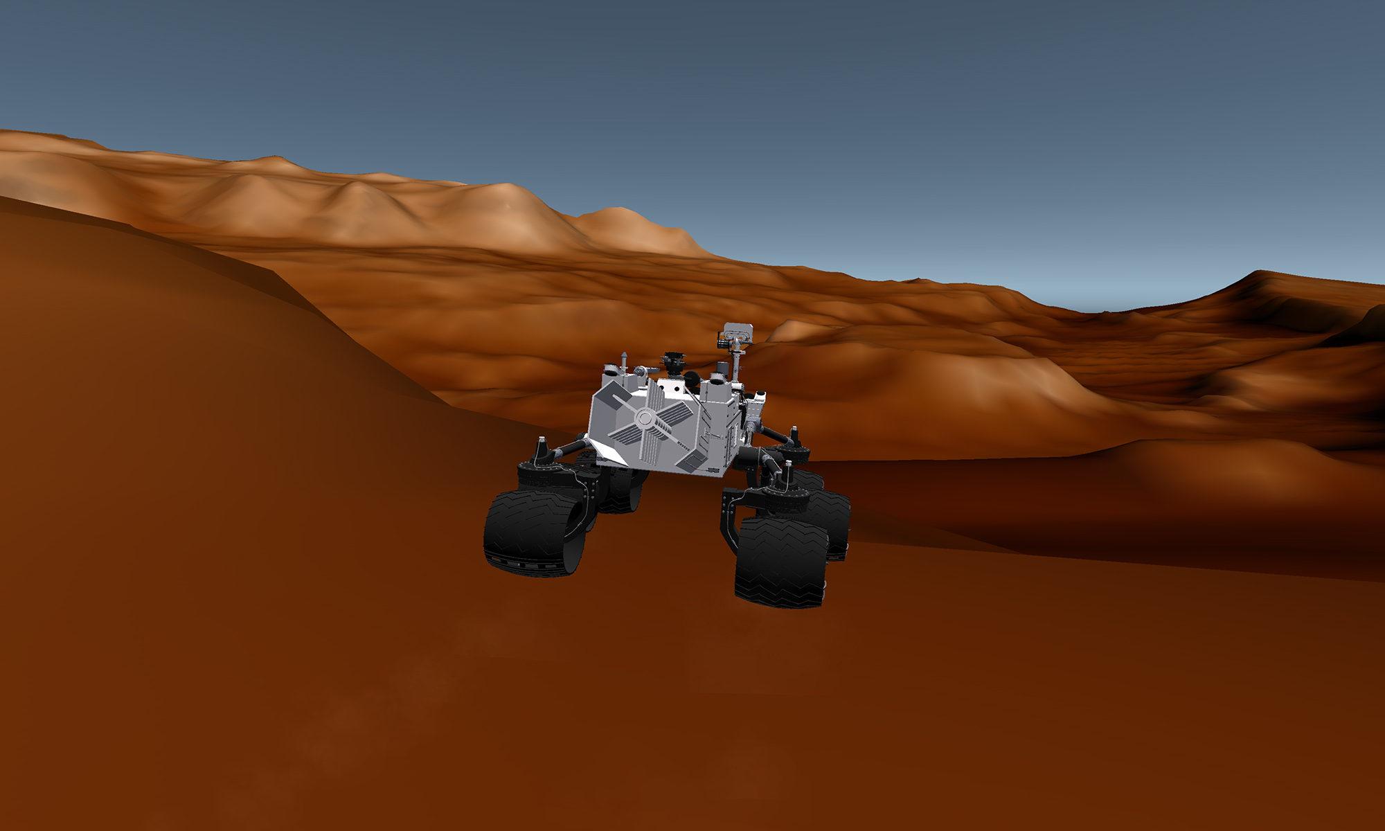 Mars Exploration App